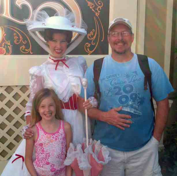Mary Poppins Magic Kingdom 2012