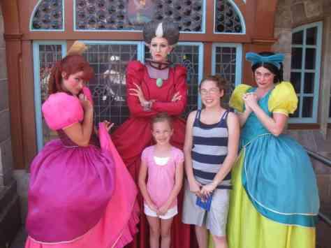 Anastasia, Drizella and Lady Tremaine Magic Kingdom 2011