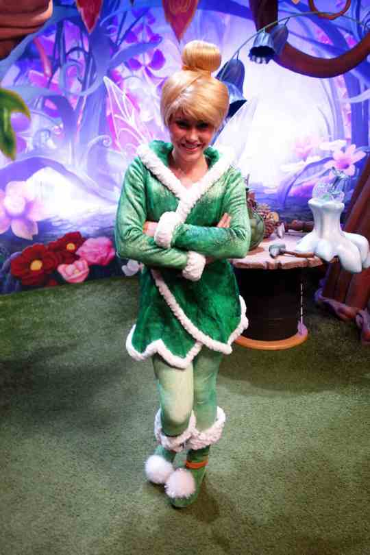 Tinker Bell at Tinker Bell's Magical Nook in Magic Kingdom 2012
