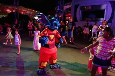 Stitch at Mickey's Not So Scary Halloween Party 2012