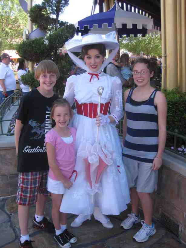 Mary Poppins Magic Kingdom 2011