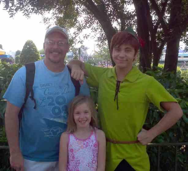 Peter Pan - Adventureland 2012