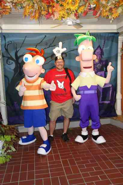 Phineas and Ferb Mickey's Not So Scary Halloween Party 2012