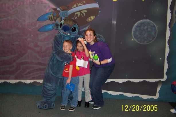 Stitch in Tomorrowland Magic Kingdom 2005