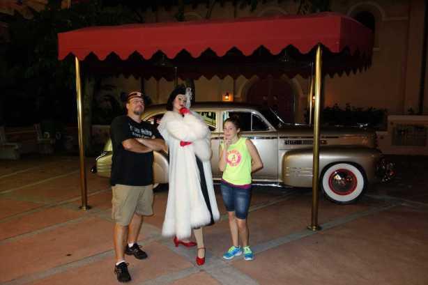 Cruella at Villains Bash 2012