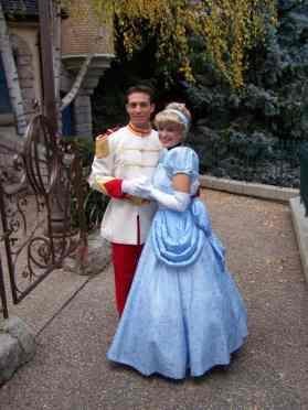 Cinderella & Prince Charming Disneyland Paris