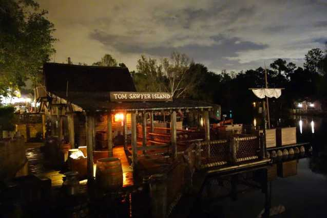 Tom Sawyer Island at the Magic Kingdom in Disney World