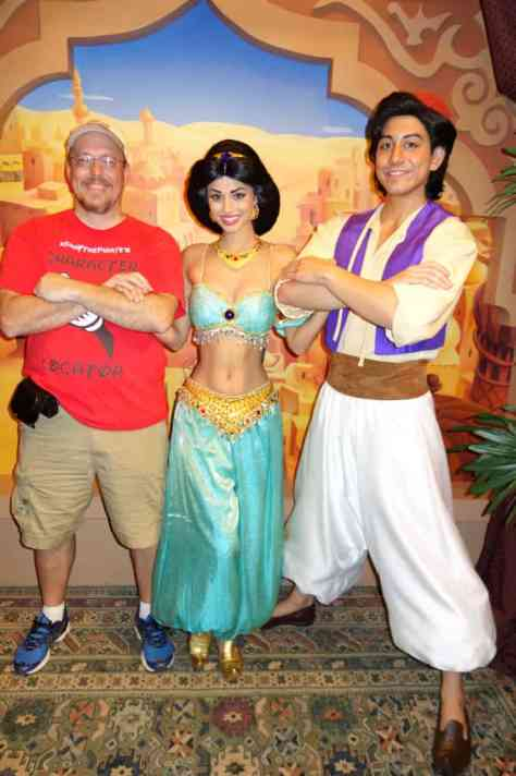 Aladdin & Jasmine in Epcot