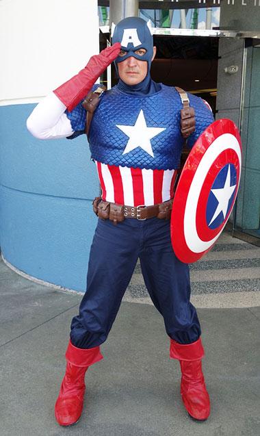 Captain America Universal Orlando Islands of Adventure Characters