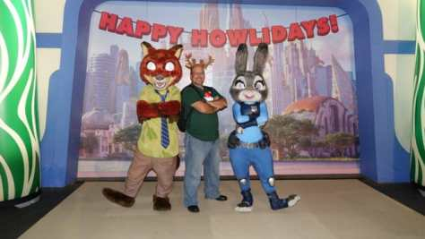 Nick and Judy at Mickey's Very Merry Christmas Party