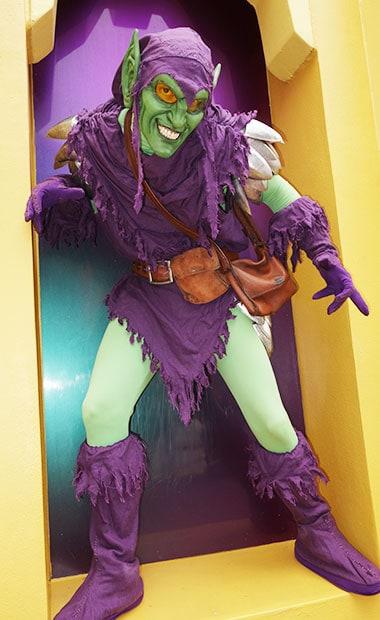 Green Disney Characters Universal Orlan...