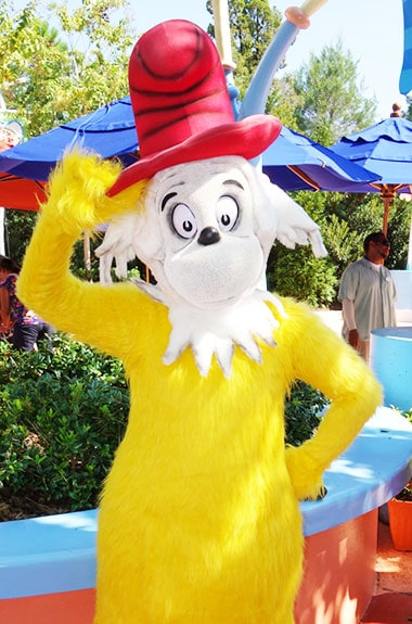Sam I Am Dr Seuss Characters Universal Orlando Islands of Adventure