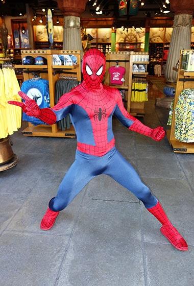 Spiderman meet Universal Islands of Adventure