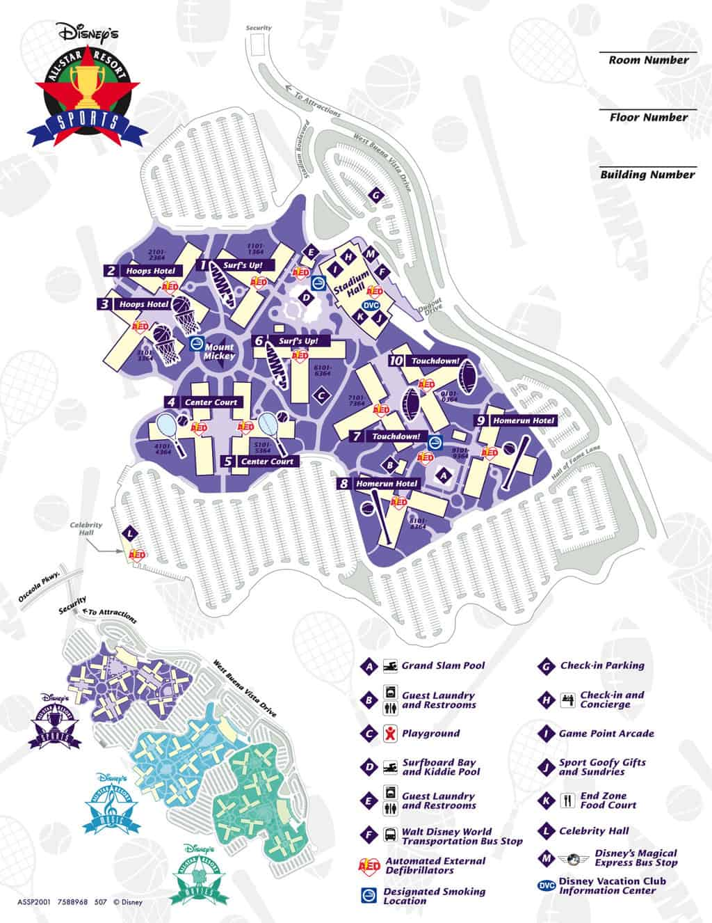 Walt Disney World Maps | KennythePirate.com