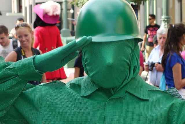 Walt Disney World, Disney's Hollywood Studios, Character Palooza, Green Army Man