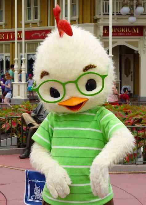 Chicken Little at Long-lost Friends Magic Kingdom Disney World