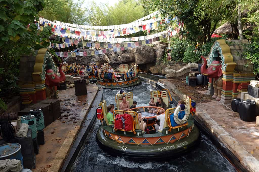 Kali River Rapids Refurbishment Extended