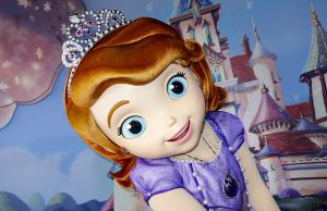 Walt Disney World, Hollywood Studios, Sofia the First, Meet and Greet