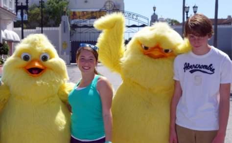 Universal Studios Orlando Hop Characters Meet and Greet (a)