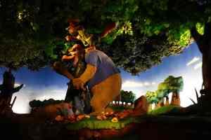 Splash Mountain Magic Kingdom Walt Disney World Kenny the Pirate (3)