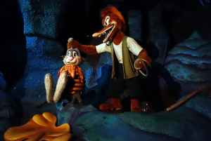 Splash Mountain Magic Kingdom Walt Disney World Kenny the Pirate
