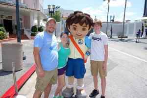 Universal Studios Orlando Dora and Diego Meet and Greet (7)