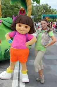 Universal Studios Orlando Dora Meet and Greet (2)