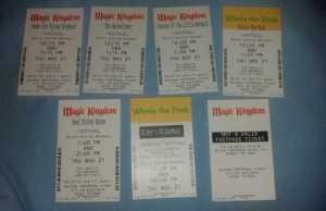 Walt Disney World, Magic Kingdom, Fastpasses