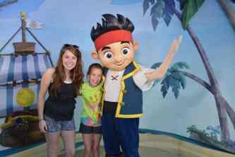 Walt Disney World Hollywood Studios Characters Jake and the Neverland Pirates