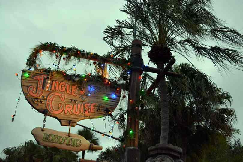 Walt Disney World, Magic Kingdom, Christmas, Jingle Cruise, 2013