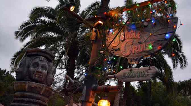 Jingle Cruise 2013 Caution your experiences may vary!