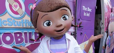 Doc mcstuffins and sofia the first coming to hollywood and vine at doc mcstuffins hollywood and vine meet and greet m4hsunfo