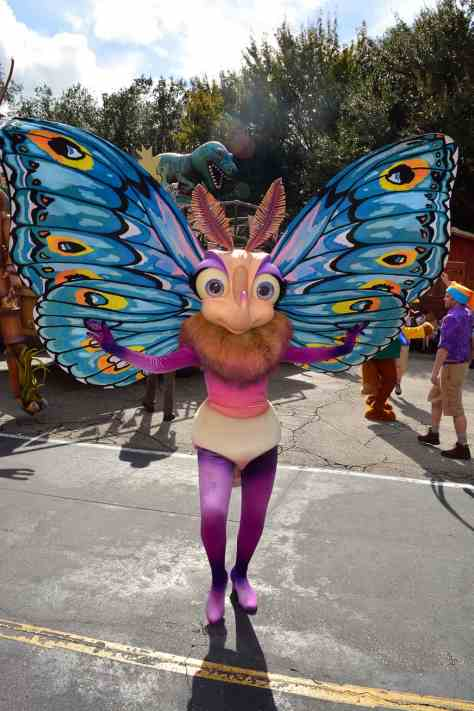 Walt Disney World, Disney's Animal Kingdom, Dinoland Dance Party, Slim, Gypsy,