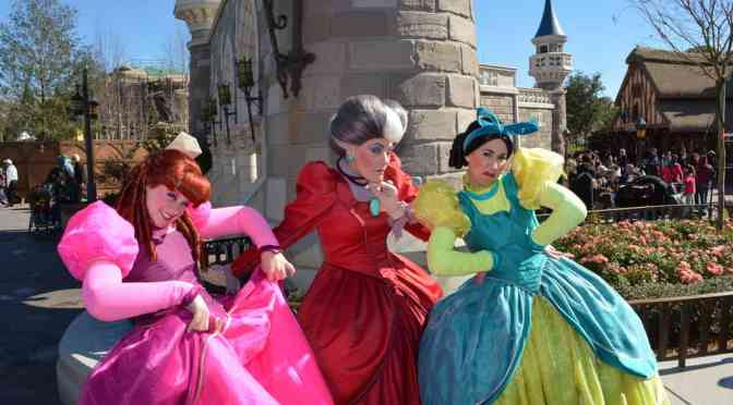 Another major character being cut from Magic Kingdom