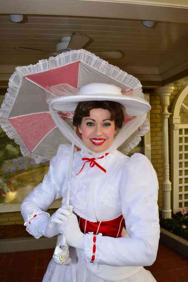 Walt Disney World, Magic Kingdom, Mary Poppins, Town Square, Meet and Greet