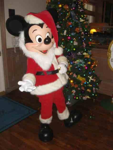 Walt Disney World, Old Key West Resort, Christmas Characters, Santa Mickey, Meet and greet