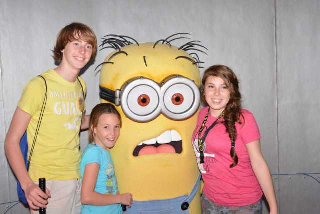 Universal Orlando, Universal Studios Florida, Minion Bob, Meet and Greet