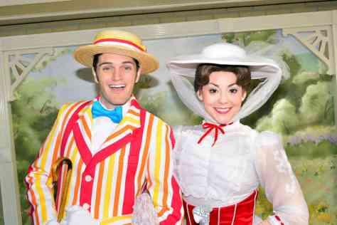 Walt Disney World, Magic Kingdom, Characters, Valentines Day, Bert, Mary Poppins, Meet and Greet