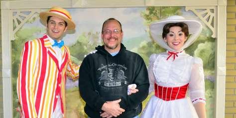 Walt Disney World, Magic Kingdom, Characters, Valentines Day,
