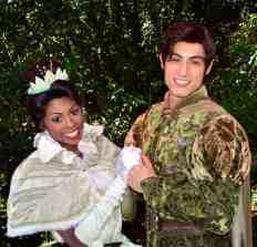 Walt Disney World, Magic Kingdom, Characters, Valentines Day, Tiana, Naveen