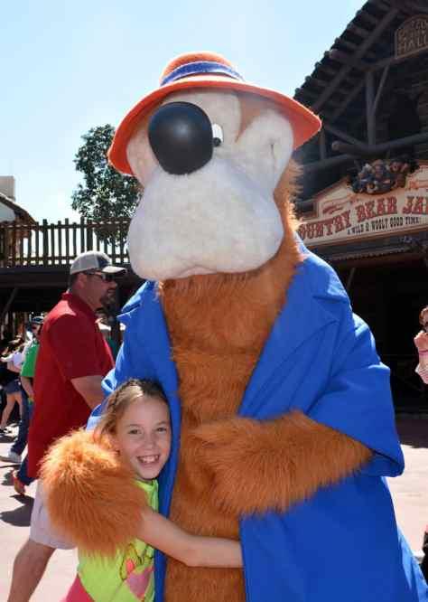 Brer Bear at Magic Kingdom in Disney World