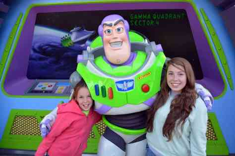 Buzz Lightyear at Magic Kingdom in Disney World