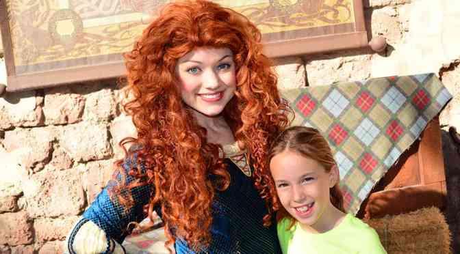 Walt Disney World, Magic Kingdom, Character Meet and Greets, Merida