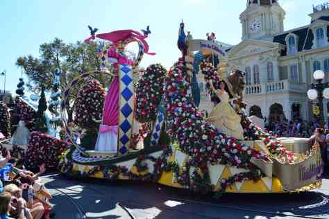 Walt Disney World, Magic Kingdom, Festival of Fantasy Parade, Princess Float