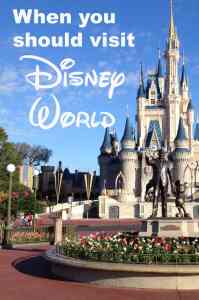 When you should visit Disney World l Disney World Crowd Calendar #disneyworldcrowds #disneyworldplanning #disneyworldtips