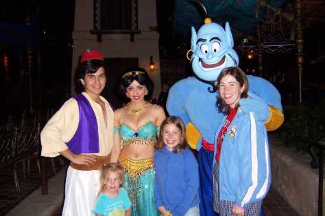 Disneyland character meet and greets archives kennythepirate aladdin jasmine and genie disneyland character meet and greet 2007 m4hsunfo