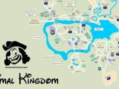 Animal Kingdom Map, KennythePirate Animal Kingdom Map, KennythePirate map, Best Disney World Map