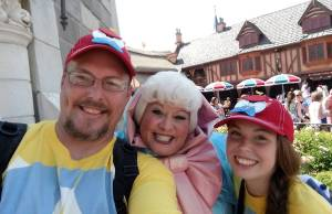 Fairy Godmother removed from Magic Kingdom meet and greets