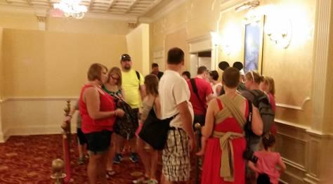 Meet Tinker Bell in Walt Disney World Magic Kingdom queue