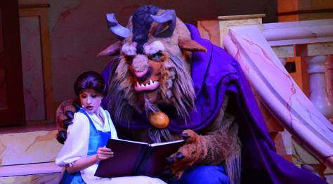 7-18 belle and beast arm around